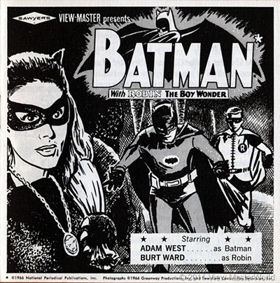 View-Master packet Batman (B492), booklet cover