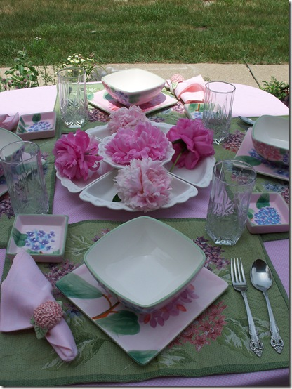 Pretty Floral Lunch 022