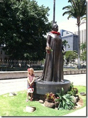 State Capitol-K with Princess Lilioukalani statue