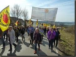 Fukushima Demo  Neckarwestheim Foto C. Schäflein