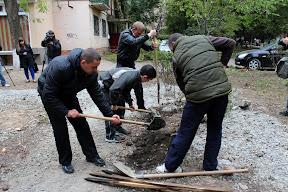 Жители ужгорода с лопатами защищают придомовую территорию от застройки 3.JPG