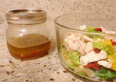 pepper jelly vinaigrette 2