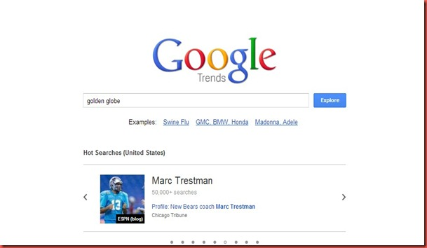new google trends insight for search