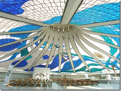 CATHEDRAL BRASILIA INSIDE