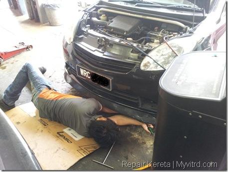 Repair aircond myvi 4