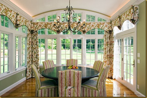 arch curtains for large windows