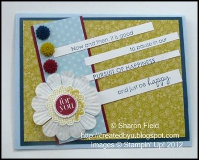 in color colors and dahlias with two stamp sets