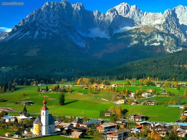 طبيعة النمسا
