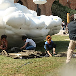 pirate camp at arsenale by stavro