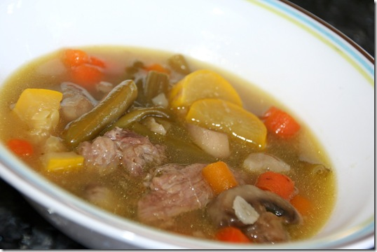 Moms Beef Vegetable Soup