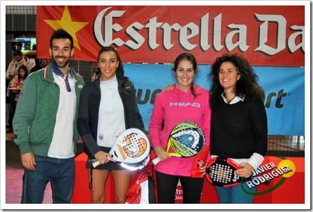 Lasheras-Virseda Campeonas Circuito Estrella Damm FMP Rivas Vaciamadrid 2013.