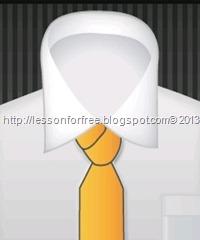 අලුත් විදියකට ටයි එක දාමු. (ක්රම අටක පාඩම් මාලාවේ දෙවන ක්රමය) - How to wear a tie (Part 02) Cross knot method with Pictures