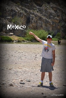 No illegal border crossings for us, but we almost made it to Mexico!
