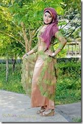 model hijab terbrau liana6