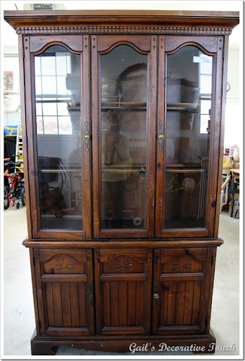 She Wanted Something Like This China Cabinet To Go Into Her Country  Kitchen. And She Wanted It Painted Red But Not A Bright Red.