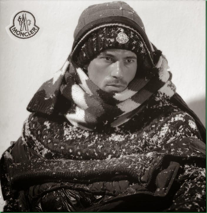 Radoslav Vanko by Bruce Weber for Monclair