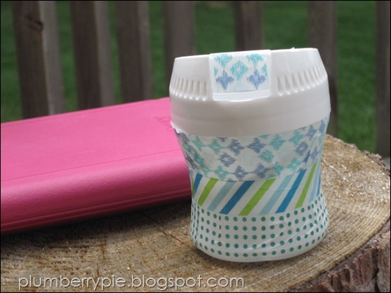 Plumberry Pie washified gum container