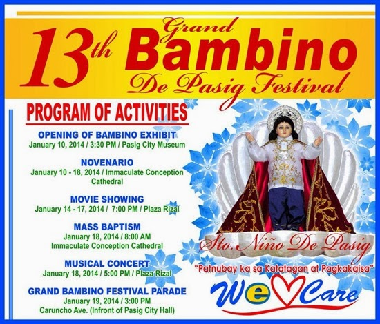 13th Bambino De Pasig Grand Festival