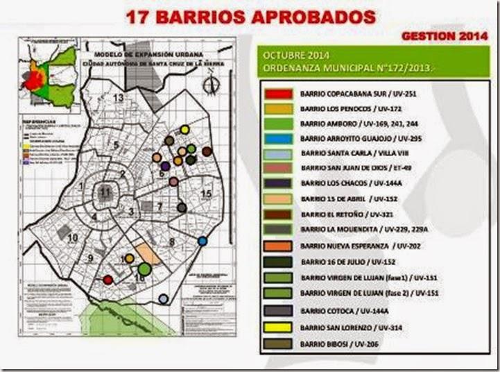 Barrios de Santa Cruz de la Sierra