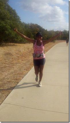 16 miles bc runs over half distance
