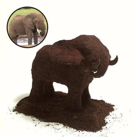 Esculturas de bolachas OREO 19