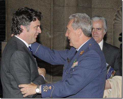 Antonio de Castro, El Teniente General,D.Julio Jiménez Ruíz y D.Carlos de Burón