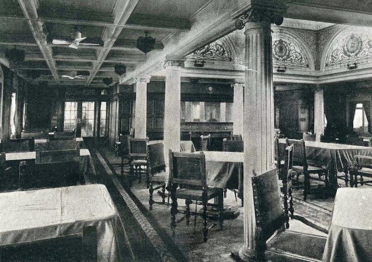 Comedor de primera clase. Libro de Obras. S.E. de C.N. Año 1922.jpg