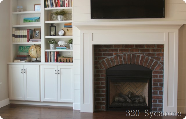 Have you ever used regular paint around a fireplace? Did it stay or ...