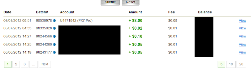 Bukti Pembayaran fx7pro.com (Pembayaran Kedua $8 USD)
