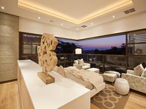 arquitectura decoracion habitacion casa de lujo