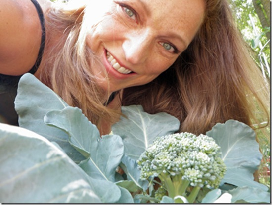 Shawna Coronado With Broccoli