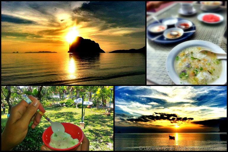 Laytrang resort Pak Meng beach collage 2