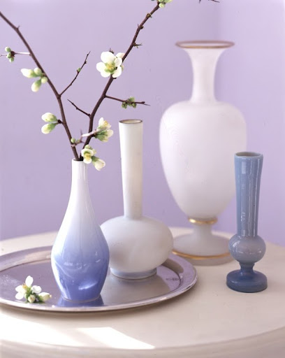 Most vases are a variation on one of six basic shapes. (Martha Stewart Living)