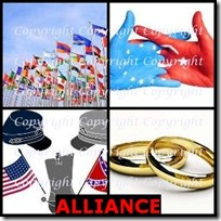 ALLIANCE- 4 Pics 1 Word Answers 3 Letters