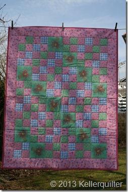 Quilt050-Vintage rosa