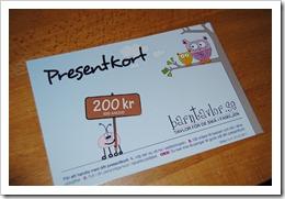 08.1 - Presentkort december 2010