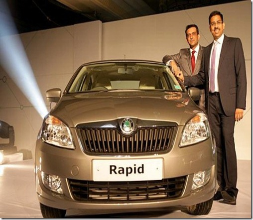 skoda rapid launch