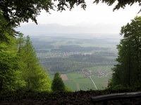 Pogled s Homa na Dol in Reteče