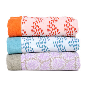 These charming towels come in such happy, unusual patterns. (robertarollerrabbit.com)