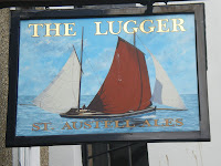 Lunch at The Lugger Inn