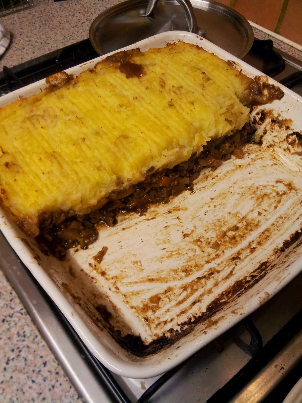 Shepherd's or Cottage Pie