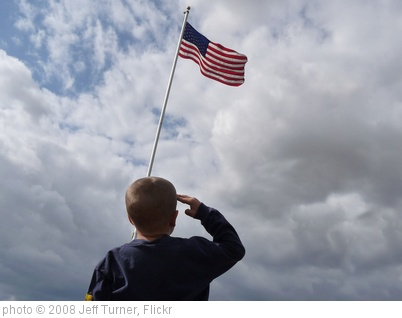 'Child Saluting American Flag' photo (c) 2008, Jeff Turner - license: http://creativecommons.org/licenses/by/2.0/