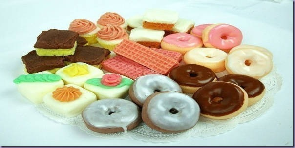 Sabonetes-Doces-Donuts-Waffer-Bolo