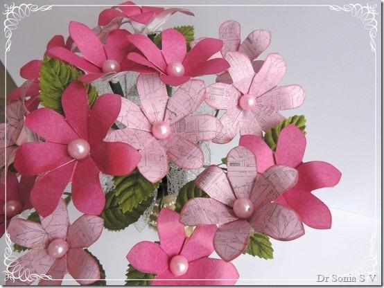 Paper Flower tutorial 6