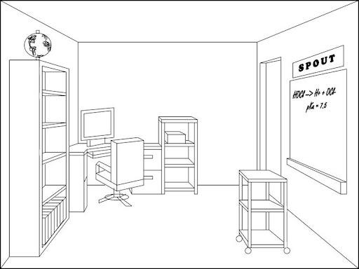Oficina dibujo para colorear imagui for Dibujo de una oficina moderna