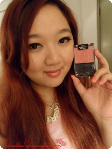 Priscilla Review Wet n Wild Blush on 5