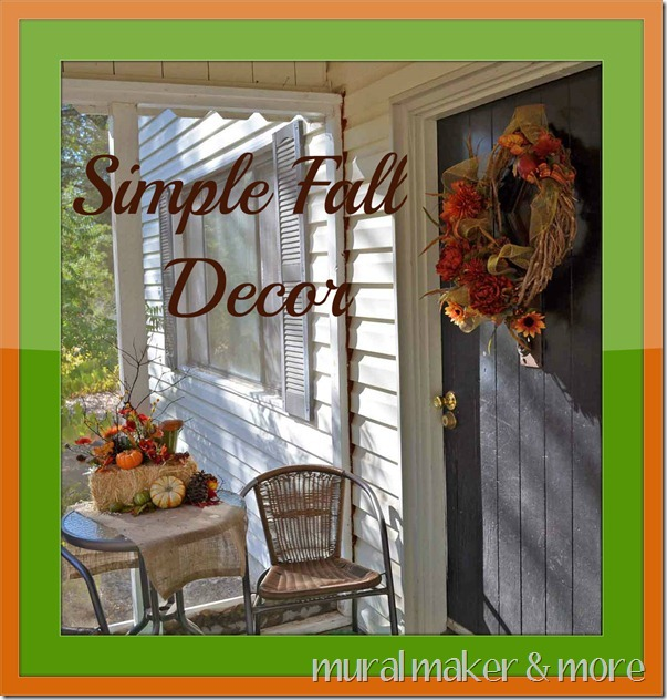Simple Fall Decor