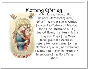 Mary with Child Jesus - Morning Offering Pillow Case Image