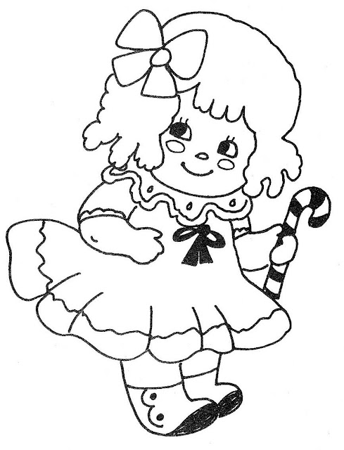 Baby Dolls Coloring
