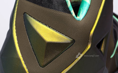 nike lebron 11 gr army slate 9 21 parachute gold Nike LeBron XI is Coming out on October 12th. New pics!